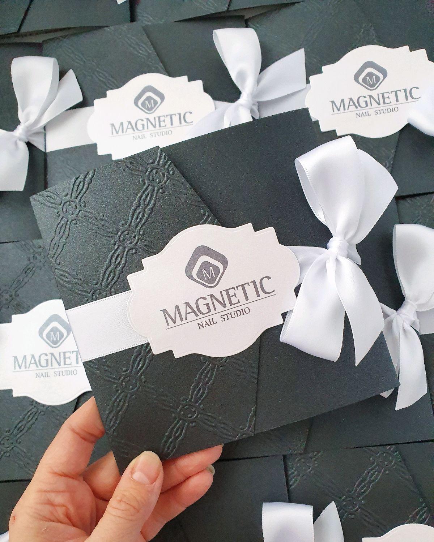 """Подарочные сертификаты """"Magnetic"""", Визитки, Санкт-Петербург,  Фото №1"""