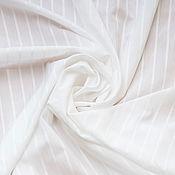 Материалы для творчества ручной работы. Ярмарка Мастеров - ручная работа Рубашечная  ткань в  полоску (two-fold cotton)  Camicissima. Handmade.
