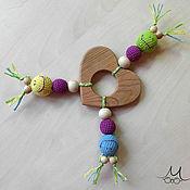 Куклы и игрушки ручной работы. Ярмарка Мастеров - ручная работа Можжевеловый грызунок СЕРДЕЧКО. Handmade.