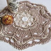 Для дома и интерьера ручной работы. Ярмарка Мастеров - ручная работа Салфетка 19 Волшебный цветок. Handmade.