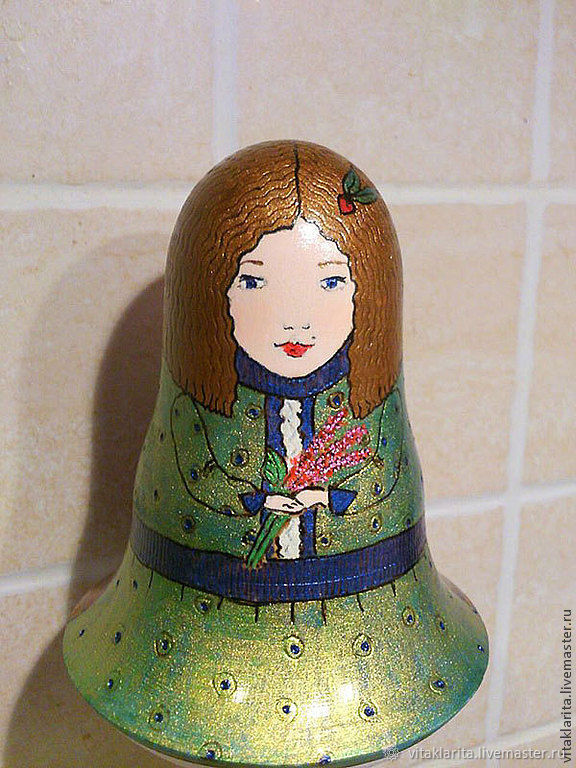 "Гадальная звенящая  кукла ""Язык цветов"", Маятник, Москва,  Фото №1"