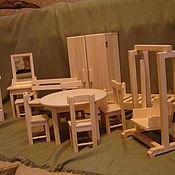 Куклы и игрушки ручной работы. Ярмарка Мастеров - ручная работа мебель для кукол. Handmade.