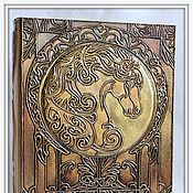 """Для дома и интерьера ручной работы. Ярмарка Мастеров - ручная работа Шкатулка-книга """"Лошадь"""". Handmade."""