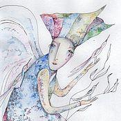 Картины и панно ручной работы. Ярмарка Мастеров - ручная работа Angel dreams. Handmade.