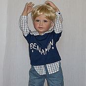 Коллекционная кукла Бенжамин лимитированного дизайна Сюзанны Липпл