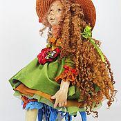 "Куклы и игрушки handmade. Livemaster - original item Авторская кукла: ""Девочка Лето"".. Handmade."