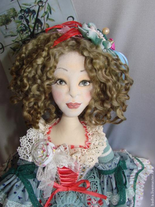 Коллекционные куклы ручной работы. Ярмарка Мастеров - ручная работа. Купить Оливия. Handmade. Коллекция, подарок девушке, кружевная тесьма