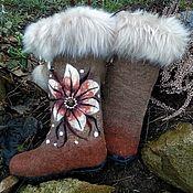 Обувь ручной работы handmade. Livemaster - original item boots: Boots - samochody