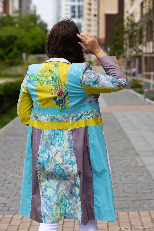 Author's Summer cloak ' Seductive reality', Raincoats and Trench Coats, Novosibirsk,  Фото №1