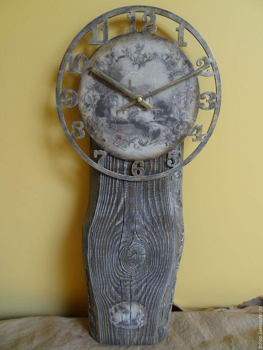 """Часы для дома ручной работы. Ярмарка Мастеров - ручная работа. Купить Часы для дома настенные деревянные """"Связь поколений"""". Handmade."""