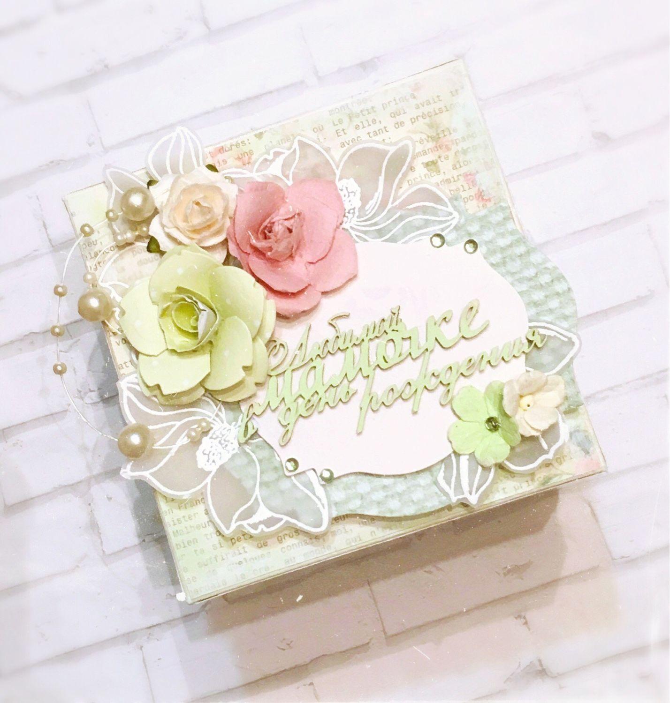 Цветы, открытки на заказ для мамы