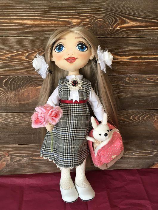 Коллекционные куклы ручной работы. Ярмарка Мастеров - ручная работа. Купить Кукла текстильная. Handmade. Кукла ручной работы, фиксатив