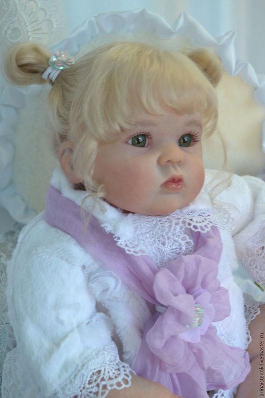 Куклы-младенцы и reborn ручной работы. Ярмарка Мастеров - ручная работа. Купить ВИКУЛЯ(молд Gudles by Donna Rubert). Handmade.