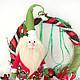 Сказочные персонажи ручной работы. Дед Мороз и Ёлка. 'Душевные подарки по поводу и без... Ярмарка Мастеров. Единственный экземпляр