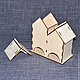 ЧД-06-001. Двойной чайный домик без окон.