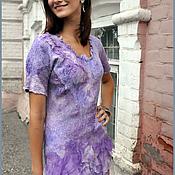 """Одежда ручной работы. Ярмарка Мастеров - ручная работа Платье """"Сирень"""". Handmade."""