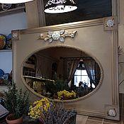 Для дома и интерьера ручной работы. Ярмарка Мастеров - ручная работа Зеркало настенное Осенний Прованс. Handmade.