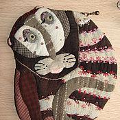 Сумки и аксессуары ручной работы. Ярмарка Мастеров - ручная работа Косметика-кошелек Кот. Handmade.