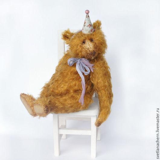 Мишки Тедди ручной работы. Ярмарка Мастеров - ручная работа. Купить Луи. Handmade. Мишка тедди, тедди, стеклянные глаза