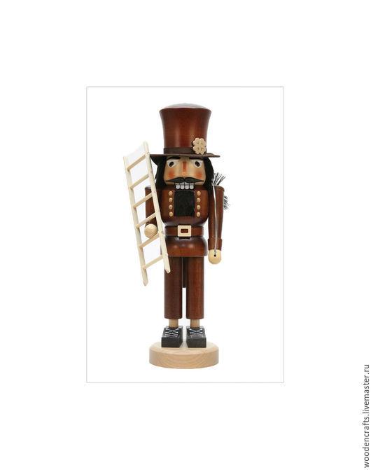 """Персональные подарки ручной работы. Ярмарка Мастеров - ручная работа. Купить Щелкунчик """"Трубочист"""". Handmade. Комбинированный, щелкунчик, подарок на новый год"""