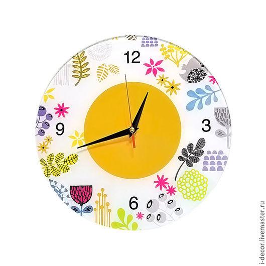 Настенные часы в детскую. Коллаж, детские часы. Подарок на Новый год.