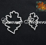 Материалы для творчества handmade. Livemaster - original item A set of cutters oak leaves, plastic. Handmade.