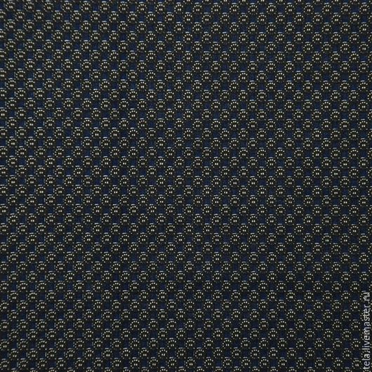 Пестрая темно-синяя ткань.  Хлопок 100% саржа. Ткань для шитья, рукоделия.  Есть в наличии.
