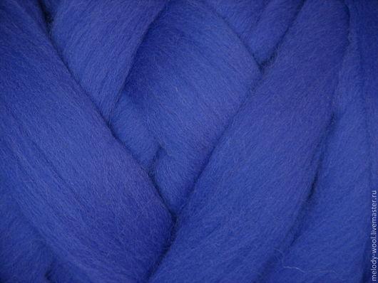 Валяние ручной работы. Ярмарка Мастеров - ручная работа. Купить Шерсть для валяния меринос 18 микрон цвет Павлин  (Peacock). Handmade.