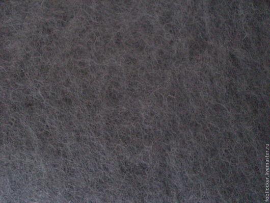 Валяние ручной работы. Ярмарка Мастеров - ручная работа. Купить Новозеландский кардочес для валяния, 27 мкр, Anthrazit. Handmade.