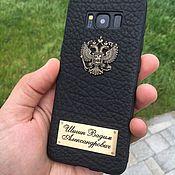 Чехол ручной работы. Ярмарка Мастеров - ручная работа Эксклюзивные кожаные чехлы на телефон. Handmade.
