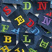 Материалы для творчества ручной работы. Ярмарка Мастеров - ручная работа Буквы для отделки. Handmade.