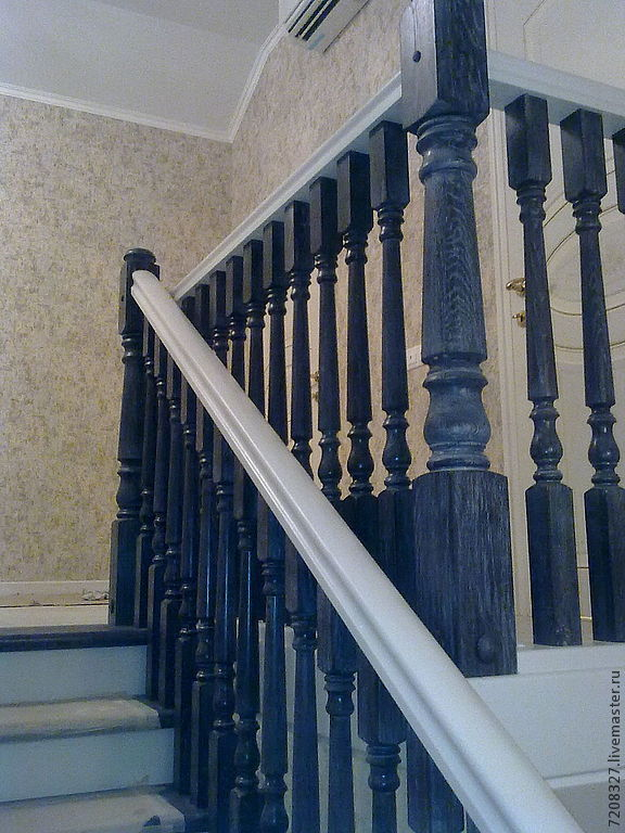 35. The staircase in the cottage, Stairs, Moscow,  Фото №1