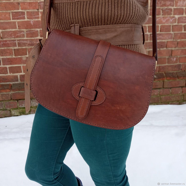 Handbag women's shoulder, Crossbody bag, Kineshma,  Фото №1