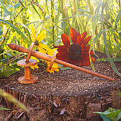 Материалы для творчества handmade. Livemaster - original item Spindle for drilling with two coils B36. Handmade.