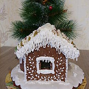 Подарки к праздникам handmade. Livemaster - original item Gingerbread house small. Handmade.