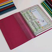 Канцелярские товары handmade. Livemaster - original item Organizer for A4 documents fuchsia. Handmade.