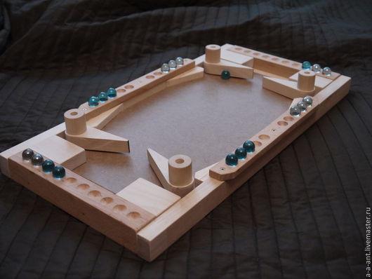 Развивающие игрушки ручной работы. Ярмарка Мастеров - ручная работа. Купить ФУТБОЛ  настольная игра. Handmade. Настольная, marbles, бежевый