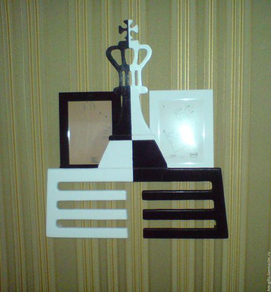 Фоторамки ручной работы. Ярмарка Мастеров - ручная работа. Купить вешалка для медалей (медальница)  - Шахматный король. Handmade. Для медалей