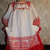 Русский стиль ручной работы. Ярмарка Мастеров - ручная работа Вологодский костюм. Handmade.