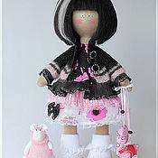 Куклы и игрушки ручной работы. Ярмарка Мастеров - ручная работа Кукла текстильная. Большеногая девочка. Микки. Handmade.