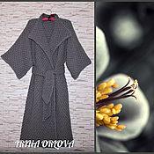 Одежда ручной работы. Ярмарка Мастеров - ручная работа Пальто вязаное шерстяное. Handmade.