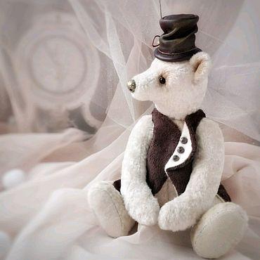 Куклы и игрушки ручной работы. Ярмарка Мастеров - ручная работа Тедди мишка Виконт де ЭскимоНТ. Handmade.