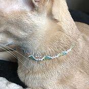 Зоотовары handmade. Livemaster - original item Collars: