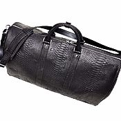 Сумки и аксессуары handmade. Livemaster - original item Sports/travel bag, made of genuine python leather!. Handmade.