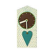 handmade. Livemaster - original item Table clock derevyannaya of derivati-domincana in the nursery. Handmade.