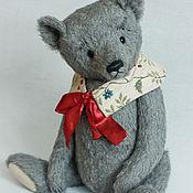 Куклы и игрушки ручной работы. Ярмарка Мастеров - ручная работа Серый мишка.. Handmade.