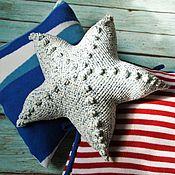 Для дома и интерьера handmade. Livemaster - original item Cushion sea star. Handmade.