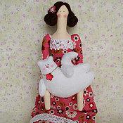 Куклы и игрушки ручной работы. Ярмарка Мастеров - ручная работа Тильда Сьюзи. Handmade.
