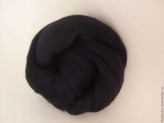Валяние ручной работы. Ярмарка Мастеров - ручная работа. Купить Шерсть для валяния меринос 18 мкр, Dark, 50 гр. Handmade.