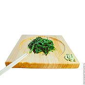 Посуда handmade. Livemaster - original item Square Sushi plate 23#1. Handmade.